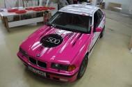 BMW E36_po zmianie koloru - przód