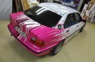 BMW E36_po zmianie koloru - tył